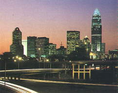 Charlotte skyline...Manhattan move over!